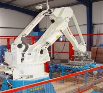 Rotherham Sand & Gravel invest in Haith Robot for Automated Bagging Plant